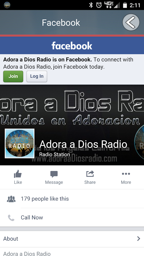 Adora a Dios Radio- screenshot