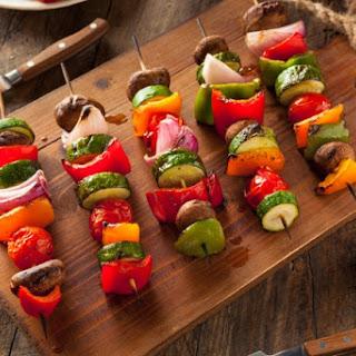 Grilled Vegetable Skewers with Summer Seasoning Blend
