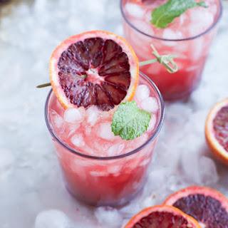 Blood Orange Wine Spritzer.