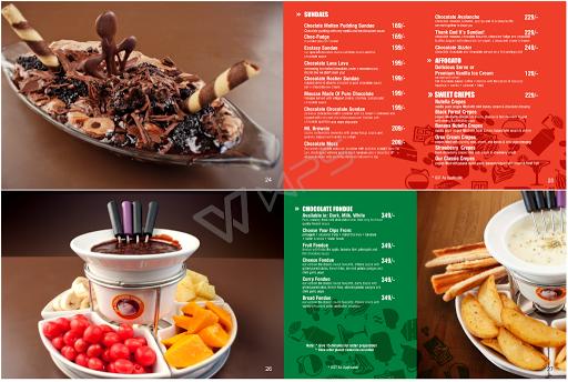 The Chocolate Room menu 6