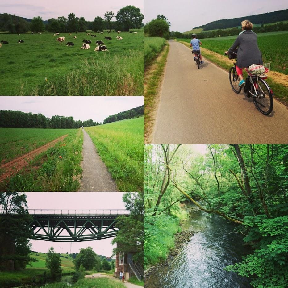 Radtour Ostwestfalen Amelunxen E-Bike Ottbergen