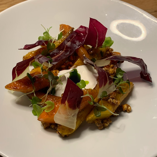Roasted Cookstown Carrot Salad