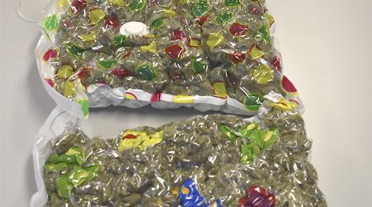 Envía más de dos kilos de marihuana por paquetería desde Almería a Reino Unido