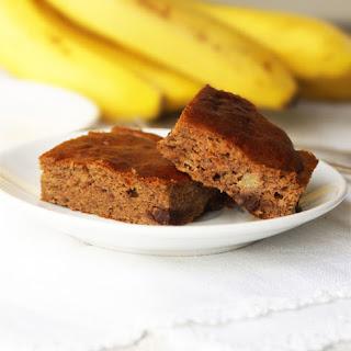 Paleo Banana Snack Cake.