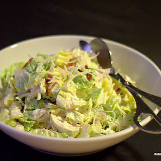 Two Minute Homemade Caesar Salad Dressing.
