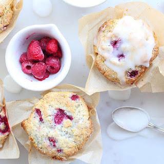 Lemon Poppy Seed Raspberry Muffins.