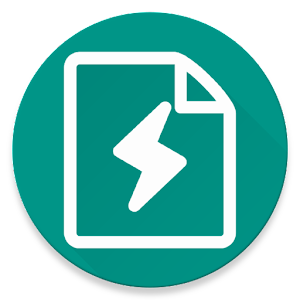 Flash Note – Simple text editor with an option to open and