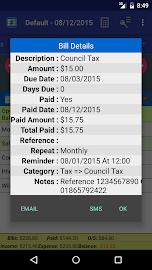 MoBill Budget and Reminder Screenshot 6