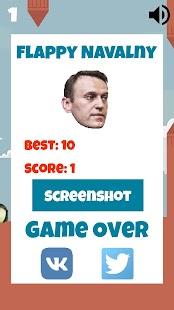 Flappy Navalny - náhled