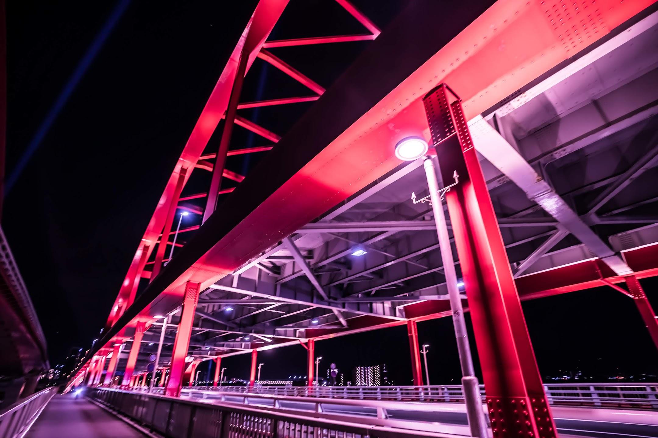 Kobe Great Bridge night3