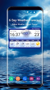 6 Day Weather Forecast - náhled