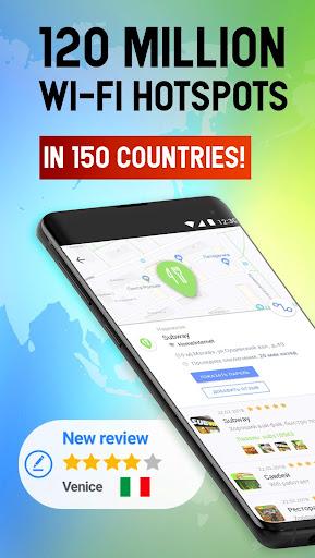 Free WiFi App: WiFi map, passwords, hotspots screenshot 3