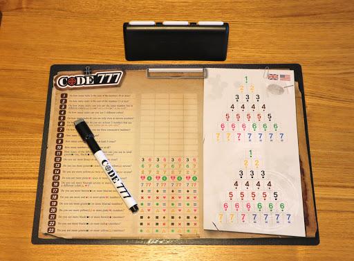 コード777 (Code 777) ゲーム準備