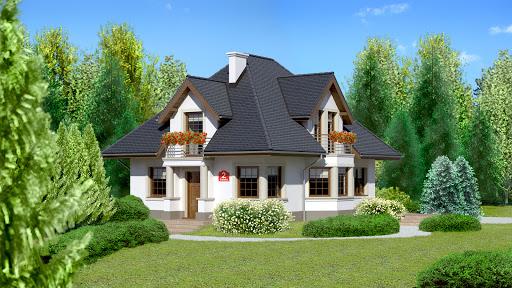 projekt Dom przy Sielskiej 2