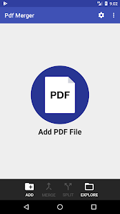 Multiple PDF Merger Screenshot