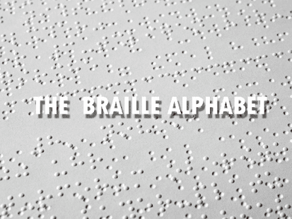 Braille Alphabet & Number Meaning History Dots - náhled