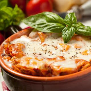 4. Spaghetti Squash Lasagna
