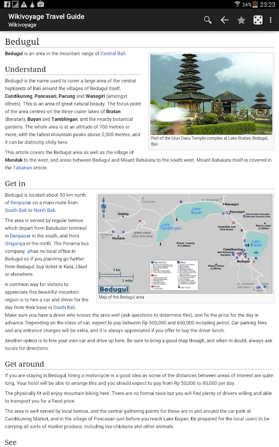 Wikivoyage - Offline Travel Guide- screenshot