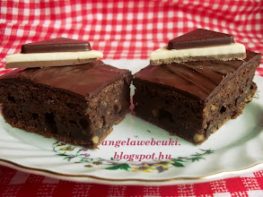 Photo: Cukkinis brownie recept