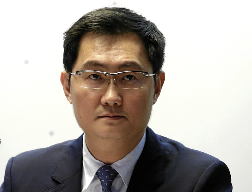 Planning: Tencent CEO Ma Huateng says new investments are in payments, the cloud, artificial intelligence and smart retail. Picture: REUTERS
