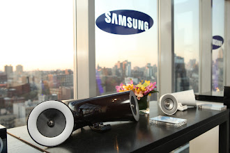 Photo: Samsung Audio launch event in NYC.   http://www.samsung.com/us