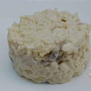 Mushroom Risotto.