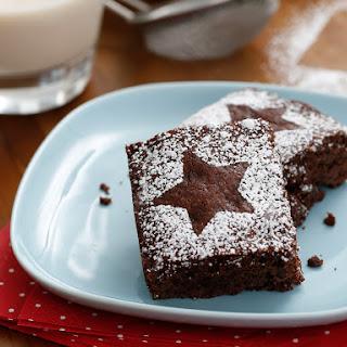 Triple Chocolate Vegan Brownies.
