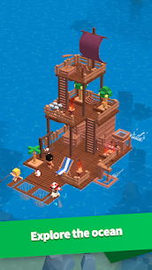 Idle Arks: Build at Sea MOD APK 2.1.1 [Unlimited Wood + Diamonds] 3