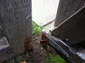 Photo: Broken Gate