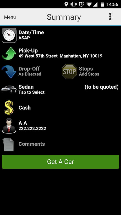 Watson Car Service- screenshot