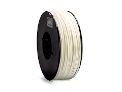White PRO Series PETG Filament - 3.00mm (10lb)