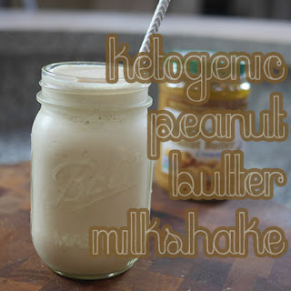 Ketogenic Peanut Butter Milkshake Recipe