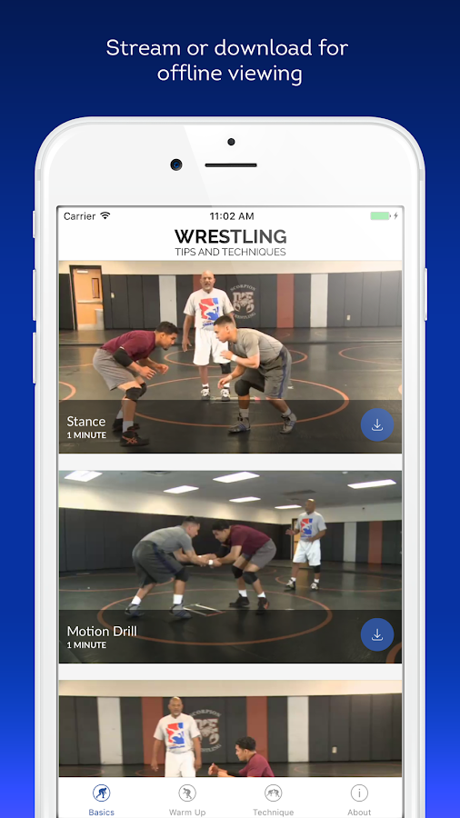 Wrestling Tips and Techniques- screenshot