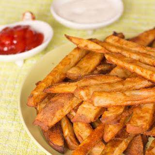 Baked Battered Fries.