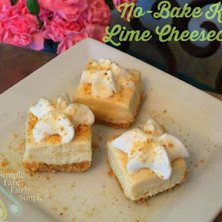 No-Bake Key Lime Cheesecake