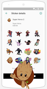 WAStickerApps Stickers Screenshot