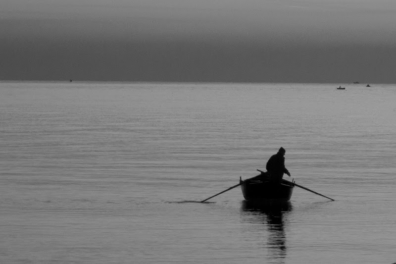 L'uomo e il mare di Elisabetta Caselli