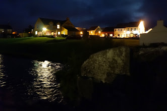 Photo: Doolin at night...we're off to find dinner and live music.
