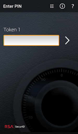 RSA SecurID Software Token screenshot