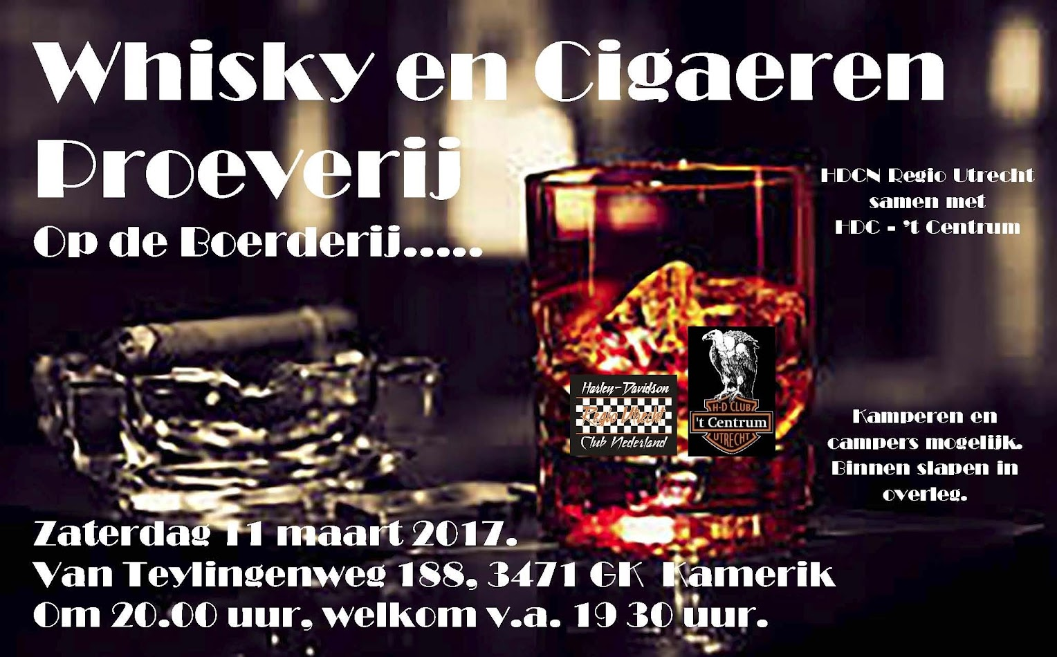 Cigaeren en Whiskey