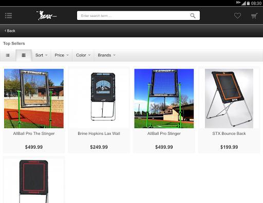 Lax.com screenshot 5