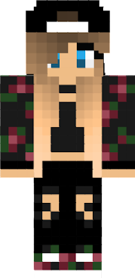 hot girl minecraft