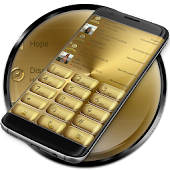 Dialer Solid Gold Theme