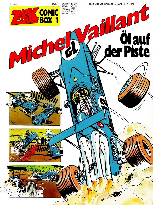 Zack Comic Box (1972) - komplett