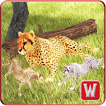 Wild Cheetah Hunt Simulator 3D Icon