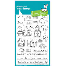 Lawn Fawn Clear Stamps 4X6 - Happy Village
