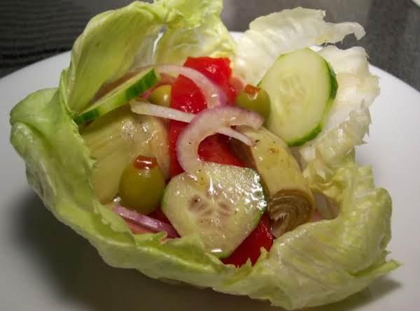 Antipasto Salad Bowls Recipe