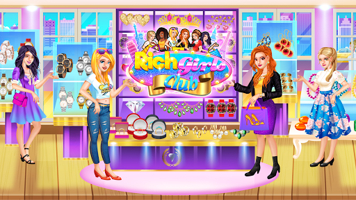 Code Triche Rich Girls Shopping 🛍  - Cash Register Games mod apk screenshots 3