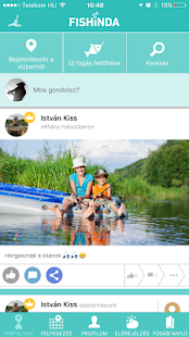 Fishinda Horgász App- screenshot thumbnail