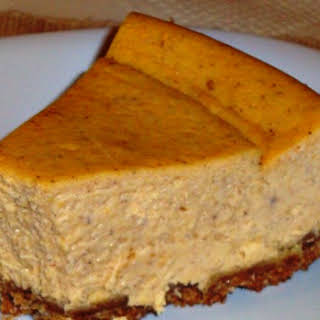 Sweet Potato Cheesecake.